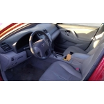 Used 2007 Toyota Camry Parts Car - Red with gray interior, 4 cylinder engine, automatic transmission