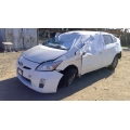 Used 2010 Toyota Prius Parts Car - White with gray interior, 4 cylinder engine, automatic transmission