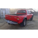 Used 2001 Toyota Tacoma Parts Car - Red with gray interior, 6 cyl engine, automatic transmission