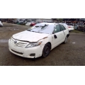 Used 2011 Toyota Camry Parts Car - White with gray interior, 4 cylinder engine, automatic transmission