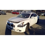 Used 2011 Nissan Maxima Parts Car - White with black interior, 6 cyl engine, automatic transmission