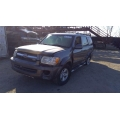 Used 2005 Toyota Sequoia Parts Car - Gray with gray interior, 4.7L 8 cylinder engine, automatic transmission