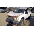 Used 2000 Toyota Tacoma Parts Car - White with blue interior, 6 cyl engine, automatic transmission