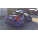 Used 2004 Honda Civic DX Parts Car - Blue with black interior, 4 cylinder engine, automatic transmission*