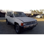 Used 1987 Toyota 4Runner Parts Car - White with gray interior, 4 cyl engine, manual transmission
