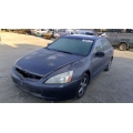 Used 2004 Honda Accord Parts Car - Gray with black interior, 4 cylinder, automatic transmission