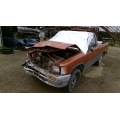 Used 1991 Toyota Pickup Parts Car - Orange with gray interior, 22RE engine, 5 speed transmission