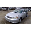 Used 2004 Toyota Camry Parts Car - Silver with gray interior, 4 cylinder engine, automatic transmission