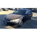 Used 2002 Toyota Camry Parts Car - Black with gray interior, 4 cylinder engine, automatic transmission