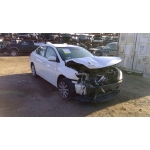 Used 2016 Nissan Sentra Parts Car - White with black interior, 4 cyl engine, Automatic transmission