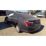 Used 2012 Toyota Camry Parts Car - Gray with grey interior, 4 cylinder engine, Automatic transmission
