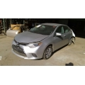 Used 2016 Toyota Corolla Parts Car - Silver with Black/gray interior, 4 cylinder engine, Automatic transmission