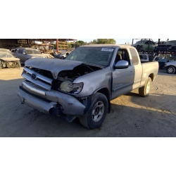 Used 2003 Toyota Tundra Parts Car - Silver with grey interior, 8 cylinder engine, Automatic transmission