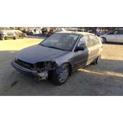 Used 2004 Honda Civic Parts Car - Gray with gray interior, 4 cylinder engine, Manual transmission