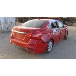 Used 2018 Nissan Sentra Parts Car - Red with black interior, 4 cyl engine, Automatic transmission
