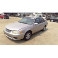 Used 2002 Toyota Corolla Parts Car - Gold with brown interior, 4 cylinder engine, Automatic transmission