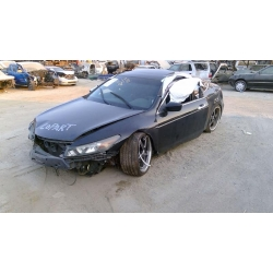 Used 2009 Honda Accord Parts Car - Black with black interior, 6cyl engine, automatic transmission