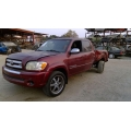 Used 2005 Toyota Tundra Parts Car - Red with grey interior, 8 cylinder engine, Automatic transmission