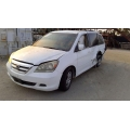 Used 2006 Honda Odyssey Parts Car - White with tan interior, 6 cyl, Automatic transmission