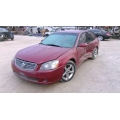 Used 2005 Nissan Altima Parts Car - Burgundy with brown interior, 6cyl engine, Automatic transmission