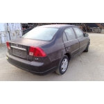 Used 2001 Honda Civic LX Parts Car - Black with gray interior, 4 cylinder engine, automatic transmission