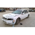 Used 1997 Infiniti I30 Parts Car - White with black interior, 6 cyl engine, automatic transmission