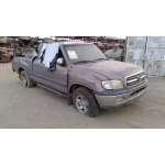 Used 2002 Toyota Tundra Parts Car - Silver with grey interior, 8 cylinder engine, Automatic transmission