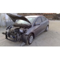 Used 2016 Hyundai Accent Parts Car - Silver with gray interior, 4 cylinder, automatic transmission