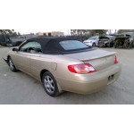 Used 2002 Toyota Solara Parts Car - Gold with tan interior, 6 cylinder engine, automatic transmission
