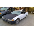 Used 1993 Honda Accord Parts Car - White with blue interior, 4 cylinder engine, manual transmission