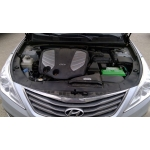 Used 2017 Hyundai Azera Parts Car - Silver with black interior, 4 cylinder, automatic transmission