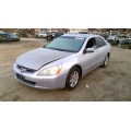 Used 2004 Honda Accord EX Parts Car - Silver with black interior, 6 cylinder, Automatic transmission