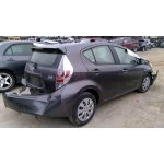 Used 2013 Toyota Prius C Parts Car - Gray with black interior, 4 cylinder engine, automatic transmission