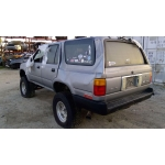 Used 1993 Toyota 4Runner Parts Car - Silver with grey interior, 6 cyl engine, automatic transmission
