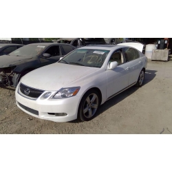 Used 2007 Lexus GS350 Parts Car - White with tan interior, 6 cylinder engine, automatic transmission