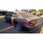 Used 2002 BMW 745li Parts Car - Silver with black/brown interior, 8 cyl engine, automatic transmission