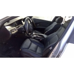 Used 2007 BMW 550i Parts Car - Silver with black interior, 8 cyl engine, automatic transmission