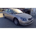 Used 2006 Nissan Altima Parts Car - Gold with brown interior, 4 cyl engine, Automatic transmission