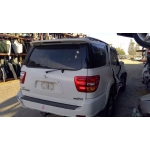 Used 2003 Toyota Sequoia Parts Car - White with grey interior, 4.7L 8 cylinder engine, automatic transmission