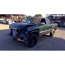 Used 2001 Toyota Tundra Parts Car - Green with brown interior, 8 cylinder engine, automatic transmission