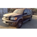 Used 2004 Toyota Sequoia Parts Car - Black with tan interior, 4.7L 8 cylinder engine, automatic transmission