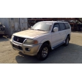 Used 2002 Mitsubishi Montero Sport Parts Car - White with brown interior, 6 cylinder, automatic transmission