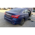 Used 2016 Nissan Sentra Parts Car - Blue with black interior, 4 cyl engine, Automatic transmission