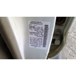 Used 2002 Infiniti QX4 Parts Car - White with tan interior, 6 cyl engine, automatic transmission