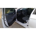 Used 2014 Hyundai Sonata Parts Car - White with gray interior, 4 cylinder, automatic transmission