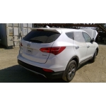 Used 2013 Hyundai Santa Fe Parts Car - White with black interior, 4 cylinder, automatic transmission