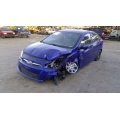 Used 2012 Hyundai Accent Parts Car - Blue with gray interior, 4 cylinder, automatic transmission