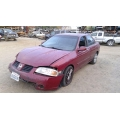 Used 2004 Nissan Sentra Parts Car - Burgundy with brown interior, 4 cyl engine, Automatic transmission